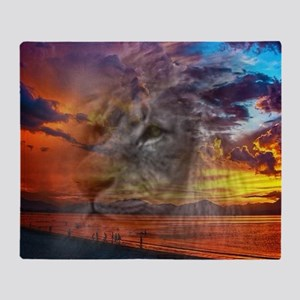 Magic Animals THE LION Throw Blanket