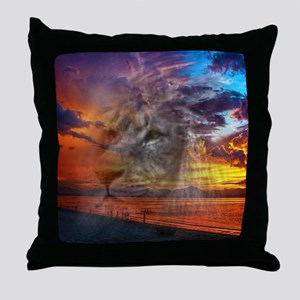 Magic Animals THE LION Throw Pillow