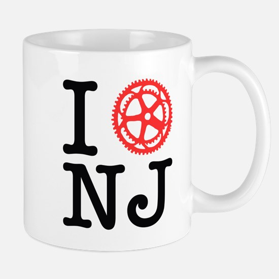 I Bike NJ Mug