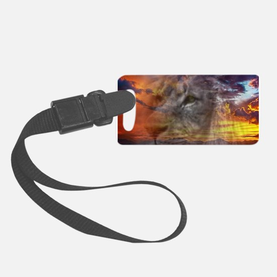 Magic Animals THE LION Luggage Tag