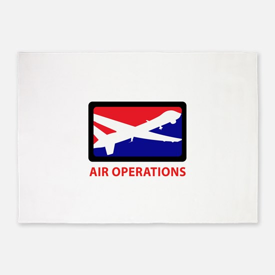 AIR OPERATIONS 5'x7'Area Rug