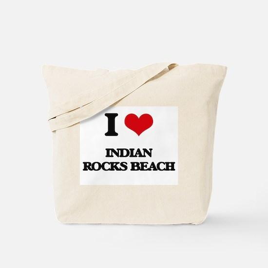 I Love Indian Rocks Beach Tote Bag