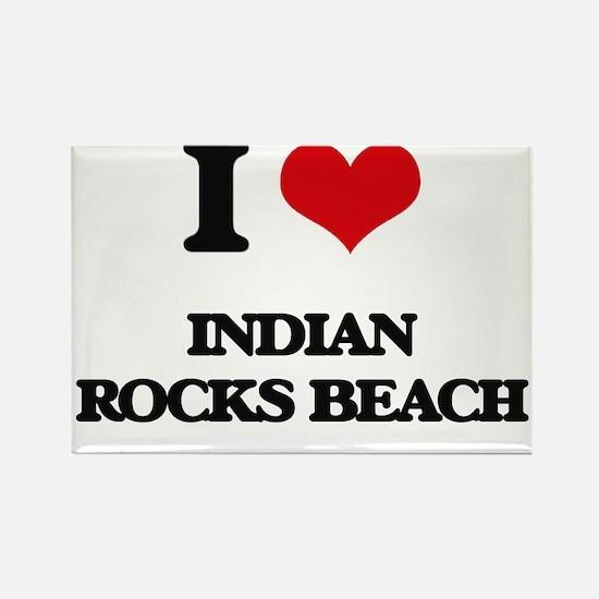 I Love Indian Rocks Beach Magnets
