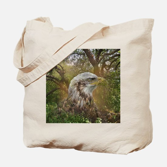 Magic Animals HAWK Tote Bag