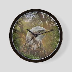 Magic Animals HAWK Wall Clock