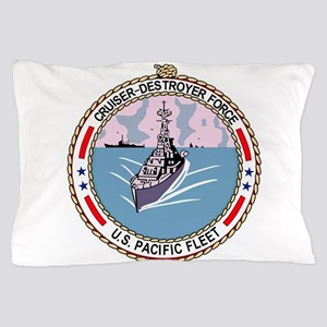 Cruiser Destroyer Force US Pacific Fle Pillow Case