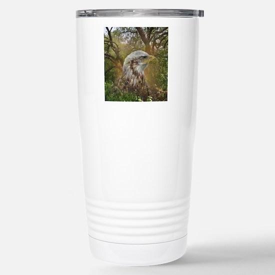 Magic Animals HAWK Stainless Steel Travel Mug