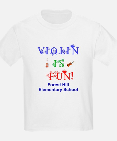 Personalized Violin is FUN! Kids T-Shirt