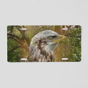 Magic Animals HAWK Aluminum License Plate