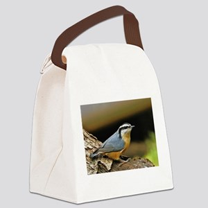 """NUTHATCH POSE"" Canvas Lunch Bag"