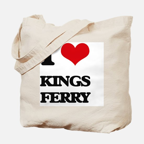 I Love Kings Ferry Tote Bag