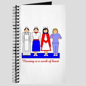 Nursing Is A Work Of Heart Journal