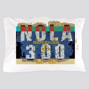 NOLA 300 Year Tricentennial Artwork Pillow Case