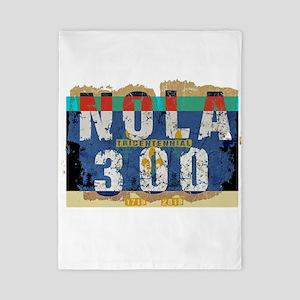 NOLA 300 Year Tricentennial Artwo Twin Duvet Cover
