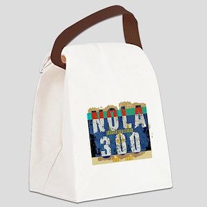 NOLA 300 Year Tricentennial Artwo Canvas Lunch Bag