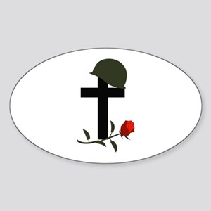 SOLDIERS GRAVE Sticker
