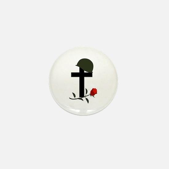 SOLDIERS GRAVE Mini Button