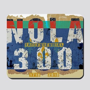 NOLA 300 Year Tricentennial Artwork Mousepad