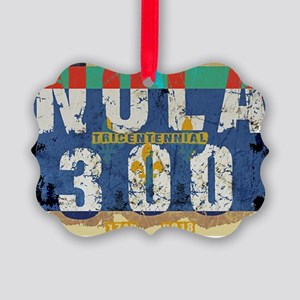 NOLA 300 Year Tricentennial Artwo Picture Ornament