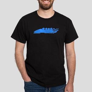 Blue Bobsledding T-Shirt