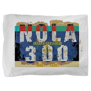 NOLA 300 Year Tricentennial Artwork Pillow Sham