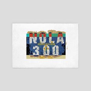 NOLA 300 Year Tricentennial Artwork 4' x 6' Rug