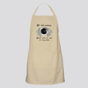 all wild creatures shall come BBQ Apron