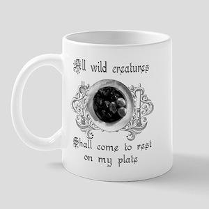 all wild creatures shall come Mug