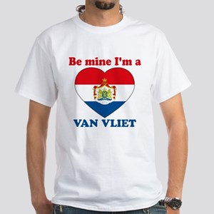 Van Vliet, Valentine's Day White T-Shirt