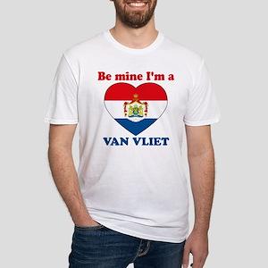 Van Vliet, Valentine's Day Fitted T-Shirt