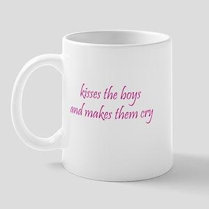 Kisses Boys Mug
