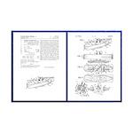 Baking Powder Submarine Patent Mini Poster Print
