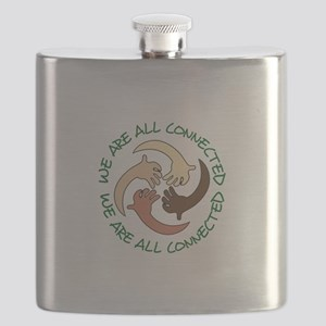 WE ARE ALL CONNECTED Flask