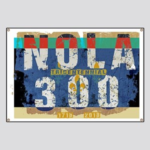 NOLA 300 Year Tricentennial Artwork Banner