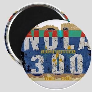 NOLA 300 Year Tricentennial Artwork Magnets