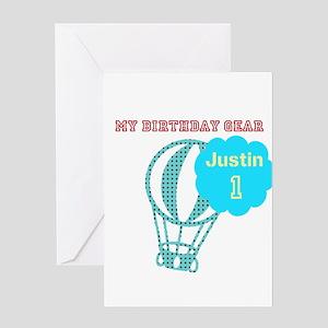 Cute Birthday Travel Greeting Card