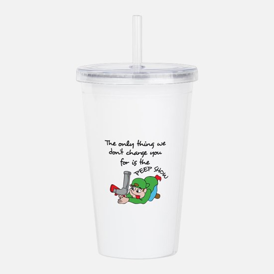 THE PEEP SHOW Acrylic Double-wall Tumbler