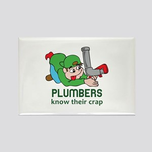 PLUMBERS KNOW THEIR CRAP Magnets