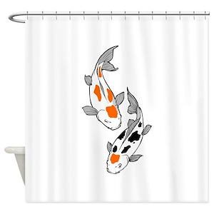 Koi Fish Shower Curtains