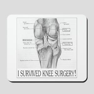 Knee Surgery Gift 8 Mousepad