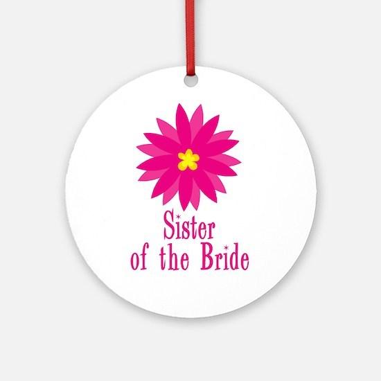 Bride's Sister Ornament (Round)