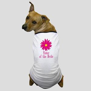 Bride's Sister Dog T-Shirt