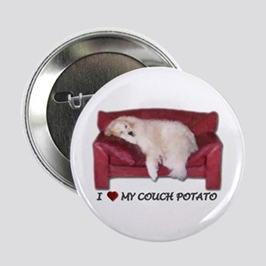 Great Pyrenees Couchpotato Button