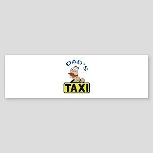 DADS TAXI Bumper Sticker