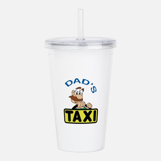 DADS TAXI Acrylic Double-wall Tumbler