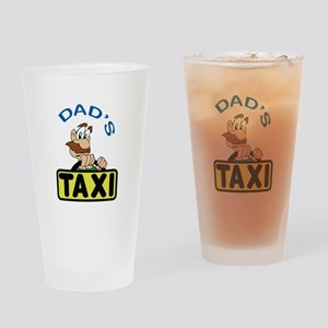 DADS TAXI Drinking Glass