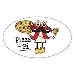 Pizza Pi Sticker