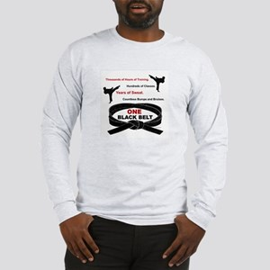 ONE Black Belt 1 Long Sleeve T-Shirt
