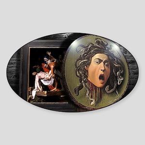 Memories of Caravaggio Sticker