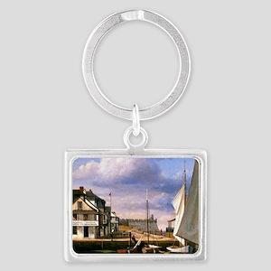 St. Augustine Waterfront landsc Landscape Keychain